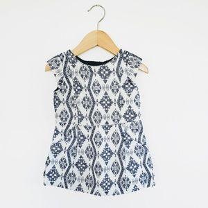 Genuine Kids OshKosh | Modern Print Metallic Dress